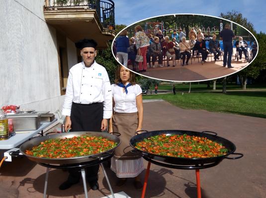Día de la Amatxu de Begoña en el Centro de Día de Muskiz (Bizkaia)