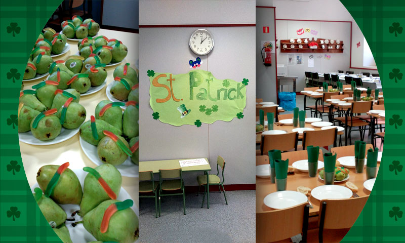 St. Patrick's Day en el Colegio Isabel La Católica