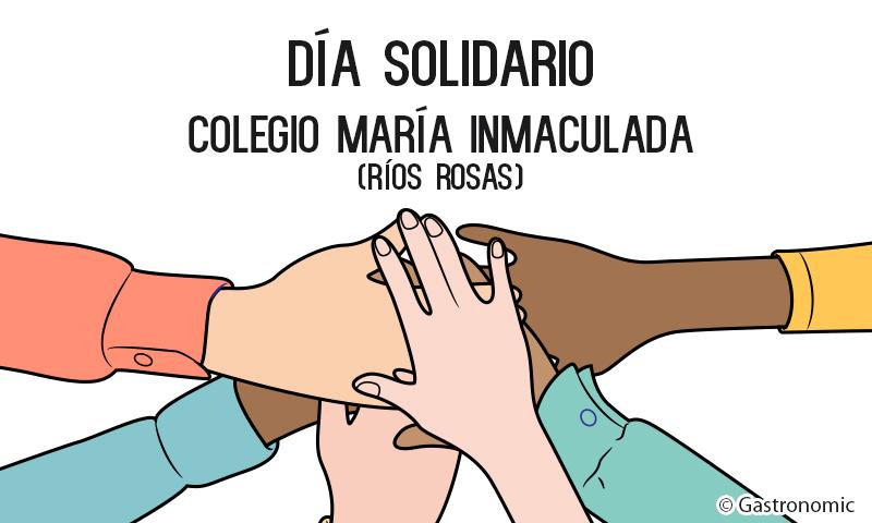 Día Solidario en el Colegio María Inmaculada Ríos Rosas